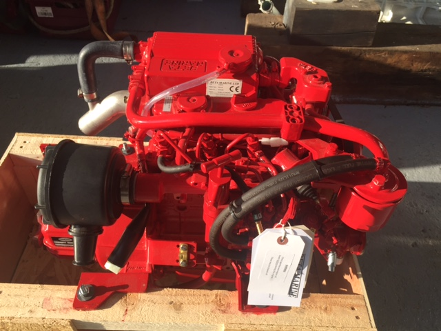 Used boatengine parts marine engineering services currently in stock beta marine 20hp engine ready for immediate installation into your boat sciox Choice Image