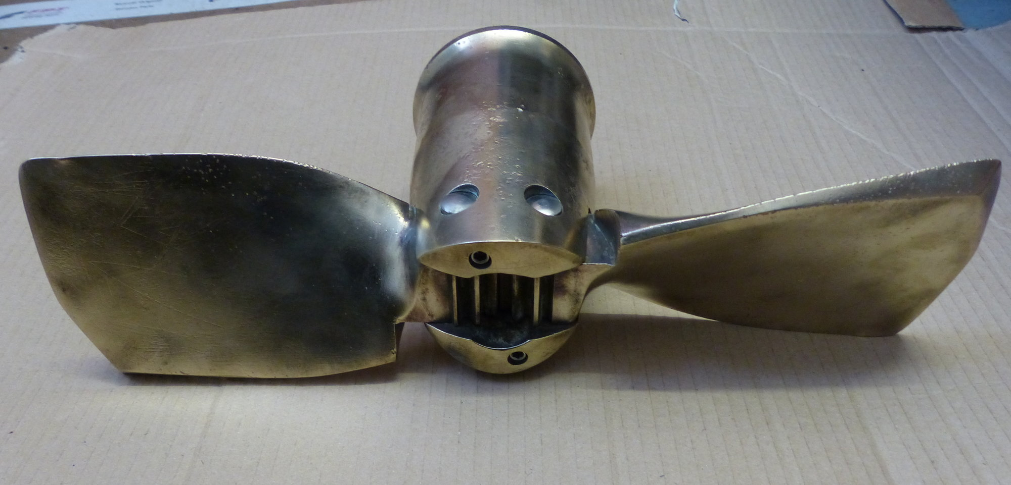 Used Cummins Engines For Sale >> Gori 2 blade folding propeller - Marine Engineering Services