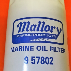 Boat oil filters