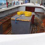 Marine boat North Wales