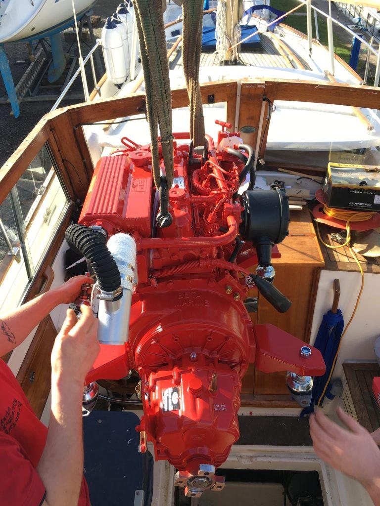 Boat maintenance North Wales