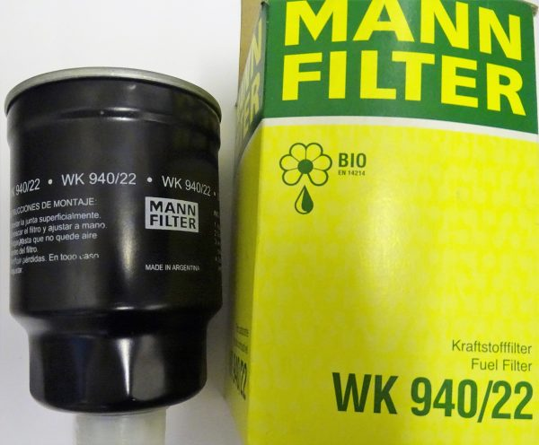 Mann Fuel Filter WK940/22 Mann Fuel Filters on