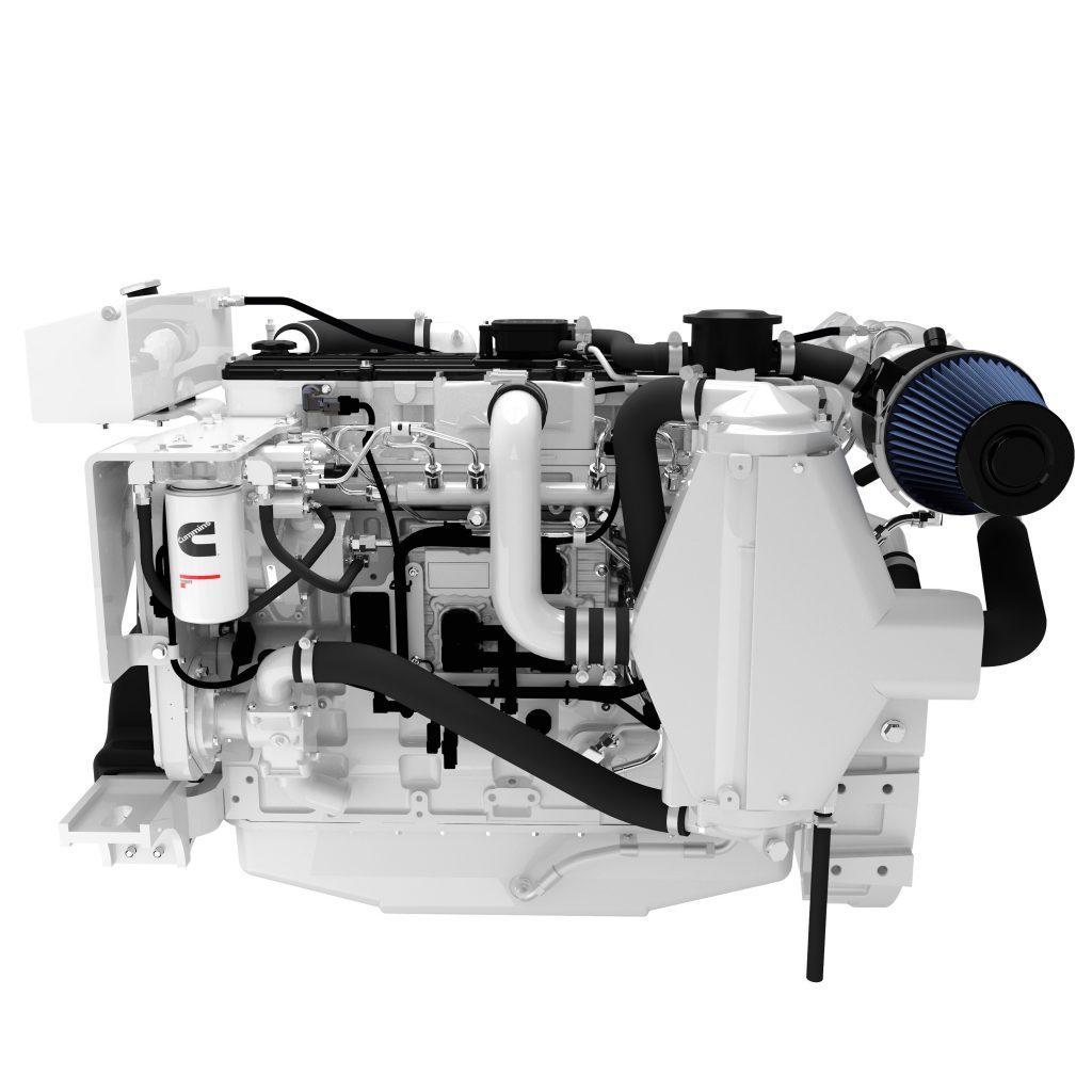Cummins marine engine servicing